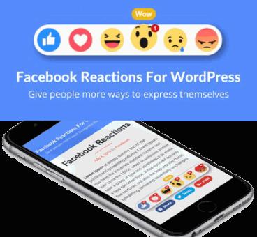 Facebook Reactions For WordPress