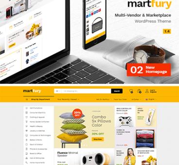 Martfury – WooCommerce Marketplace WordPress Theme