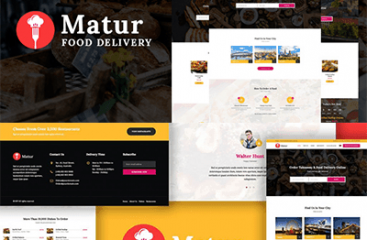 Matur – Food Delivery & Ordering WordPress Theme