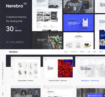 Norebro – Creative Multipurpose WordPress Theme