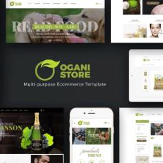 Ogani – Organic Food Store Theme for WooCommerce