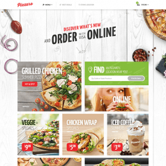 Pizzaro – Fast Food & Restaurant WooCommerce Theme