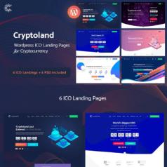 Software WordPress Theme – Cryptoland