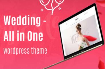 Wedding – All in One WordPress Theme