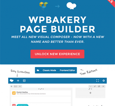 WPBakery Page Builder for WordPress ( tên cũ Visual Composer)