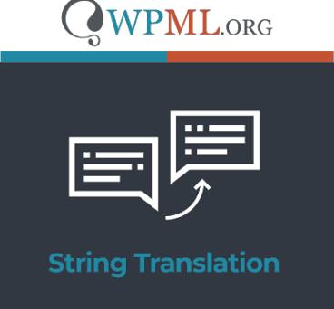 WPML String Translation Addon